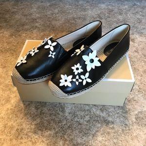 Michael Kors leather espadrilles